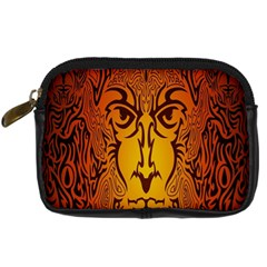 Lion Man Tribal Digital Camera Cases