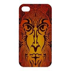Lion Man Tribal Apple iPhone 4/4S Premium Hardshell Case