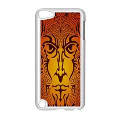 Lion Man Tribal Apple iPod Touch 5 Case (White)