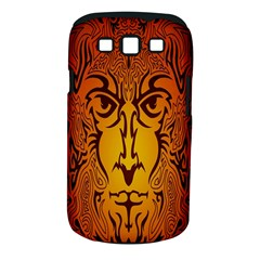 Lion Man Tribal Samsung Galaxy S Iii Classic Hardshell Case (pc+silicone)