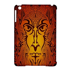 Lion Man Tribal Apple iPad Mini Hardshell Case (Compatible with Smart Cover)