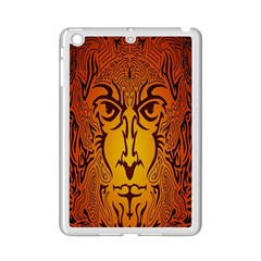 Lion Man Tribal iPad Mini 2 Enamel Coated Cases