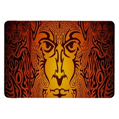 Lion Man Tribal Samsung Galaxy Tab 8 9  P7300 Flip Case