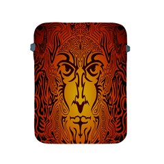 Lion Man Tribal Apple Ipad 2/3/4 Protective Soft Cases