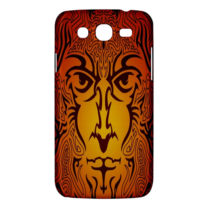 Lion Man Tribal Samsung Galaxy Mega 5.8 I9152 Hardshell Case