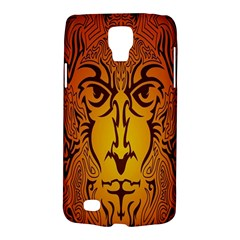 Lion Man Tribal Galaxy S4 Active