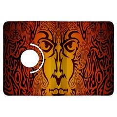 Lion Man Tribal Kindle Fire HDX Flip 360 Case