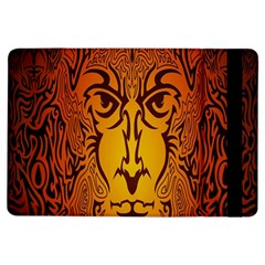 Lion Man Tribal iPad Air Flip