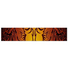 Lion Man Tribal Flano Scarf (Small)