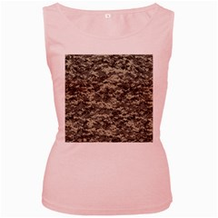 Us Army Digital Camouflage Pattern Women s Pink Tank Top
