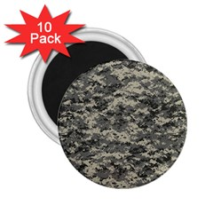 Us Army Digital Camouflage Pattern 2.25  Magnets (10 pack)