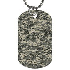 Us Army Digital Camouflage Pattern Dog Tag (two Sides)