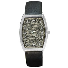 Us Army Digital Camouflage Pattern Barrel Style Metal Watch