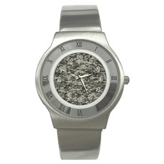 Us Army Digital Camouflage Pattern Stainless Steel Watch