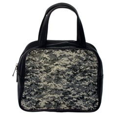 Us Army Digital Camouflage Pattern Classic Handbags (one Side)