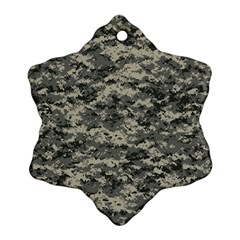 Us Army Digital Camouflage Pattern Ornament (Snowflake)