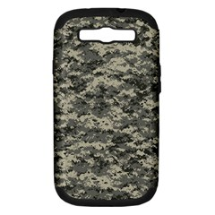 Us Army Digital Camouflage Pattern Samsung Galaxy S Iii Hardshell Case (pc+silicone)