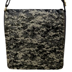 Us Army Digital Camouflage Pattern Flap Messenger Bag (S)