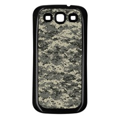 Us Army Digital Camouflage Pattern Samsung Galaxy S3 Back Case (Black)