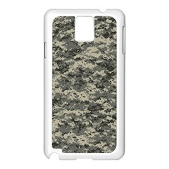 Us Army Digital Camouflage Pattern Samsung Galaxy Note 3 N9005 Case (White)