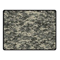 Us Army Digital Camouflage Pattern Double Sided Fleece Blanket (small)