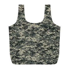 Us Army Digital Camouflage Pattern Full Print Recycle Bags (l)