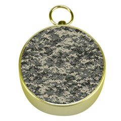 Us Army Digital Camouflage Pattern Gold Compasses