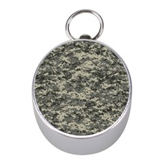 Us Army Digital Camouflage Pattern Mini Silver Compasses