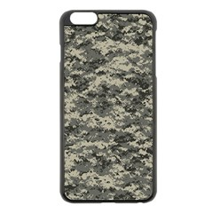 Us Army Digital Camouflage Pattern Apple iPhone 6 Plus/6S Plus Black Enamel Case