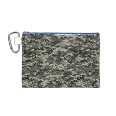 Us Army Digital Camouflage Pattern Canvas Cosmetic Bag (m)