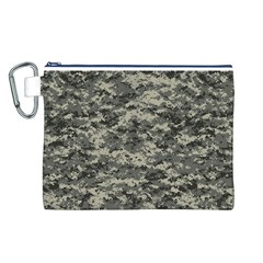 Us Army Digital Camouflage Pattern Canvas Cosmetic Bag (L)