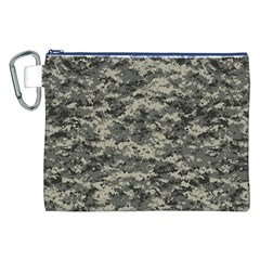 Us Army Digital Camouflage Pattern Canvas Cosmetic Bag (xxl)