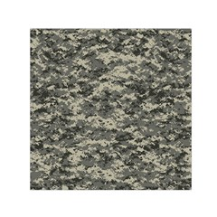 Us Army Digital Camouflage Pattern Small Satin Scarf (square)