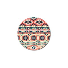 Aztec Pattern Copy Golf Ball Marker