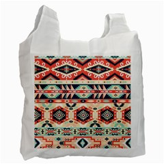 Aztec Pattern Copy Recycle Bag (One Side)