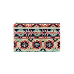 Aztec Pattern Copy Cosmetic Bag (small)