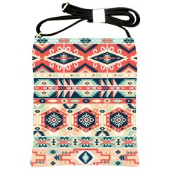 Aztec Pattern Copy Shoulder Sling Bags