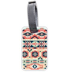 Aztec Pattern Copy Luggage Tags (one Side)