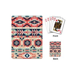 Aztec Pattern Copy Playing Cards (Mini)