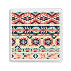 Aztec Pattern Copy Memory Card Reader (square)