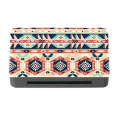 Aztec Pattern Copy Memory Card Reader With Cf