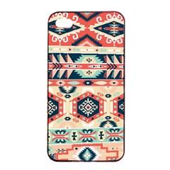 Aztec Pattern Copy Apple Iphone 4/4s Seamless Case (black)