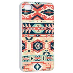 Aztec Pattern Copy Apple Iphone 4/4s Seamless Case (white)