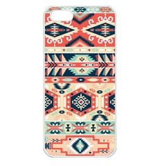 Aztec Pattern Copy Apple iPhone 5 Seamless Case (White)
