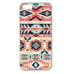 Aztec Pattern Copy Apple Seamless Iphone 5 Case (clear)