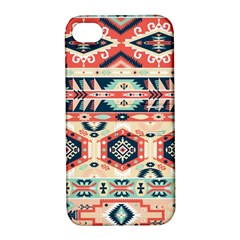 Aztec Pattern Copy Apple Iphone 4/4s Hardshell Case With Stand