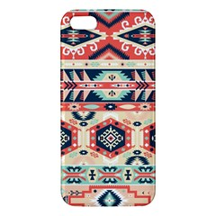 Aztec Pattern Copy Apple Iphone 5 Premium Hardshell Case