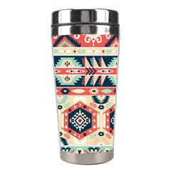 Aztec Pattern Copy Stainless Steel Travel Tumblers