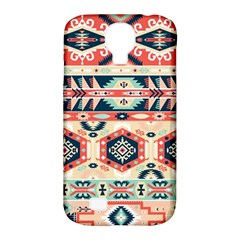 Aztec Pattern Copy Samsung Galaxy S4 Classic Hardshell Case (pc+silicone)
