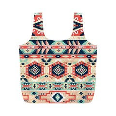 Aztec Pattern Copy Full Print Recycle Bags (m)